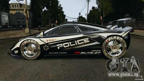 McLaren F1 ELITE Police pour GTA 4 est une gauche