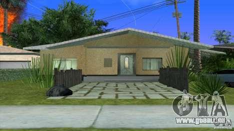 Neue Texturen Haus in Los Santos Denis für GTA San Andreas zweiten Screenshot