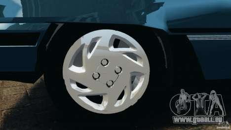 Chevrolet Kadett GSI pour GTA 4 est une vue de dessous
