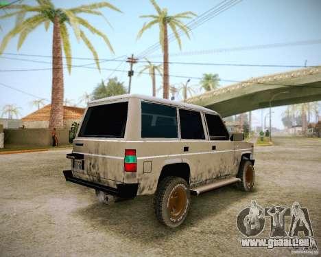 Daihatsu Taft Hiline Long für GTA San Andreas Seitenansicht