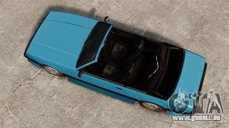 Uranus-Cabrio für GTA 4 rechte Ansicht