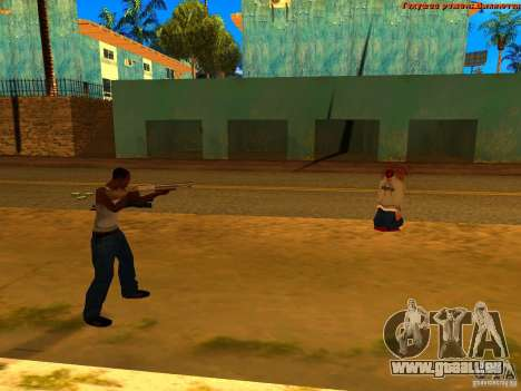 New Animations V1.0 für GTA San Andreas zweiten Screenshot