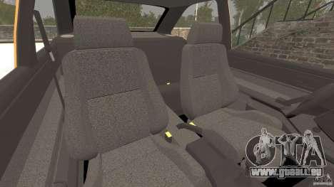 Ford Escort L 1994 Custom pour GTA 4 est une vue de l'intérieur
