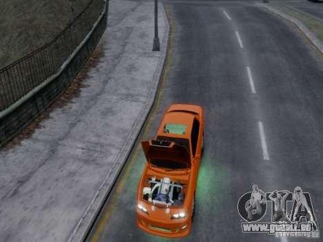 Toyota Chaser 100 TourerV pour GTA 4 est une vue de l'intérieur
