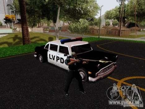 Cabbie Police LV pour GTA San Andreas vue de droite