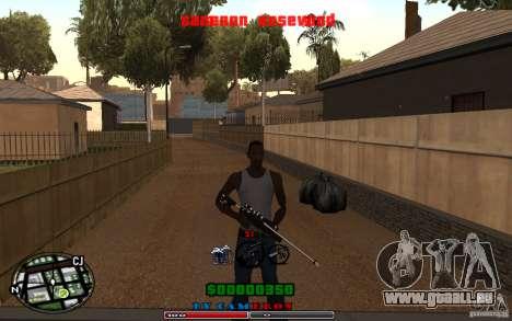 Cleo HUD by Cameron Rosewood V1.0 für GTA San Andreas zweiten Screenshot