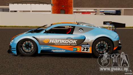 Bugatti Veyron 16.4 Body Kit Final pour GTA 4 est une gauche