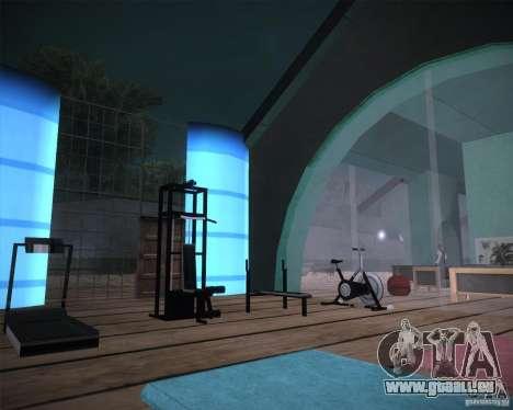 Beach House pour GTA San Andreas quatrième écran