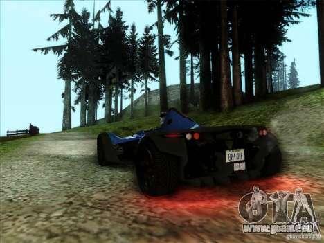 BAC MONO für GTA San Andreas linke Ansicht