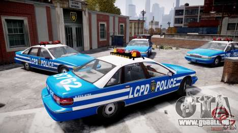 Chevrolet Caprice 1991 LCPD pour GTA 4