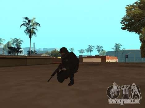 Membre du FSB pour GTA San Andreas troisième écran
