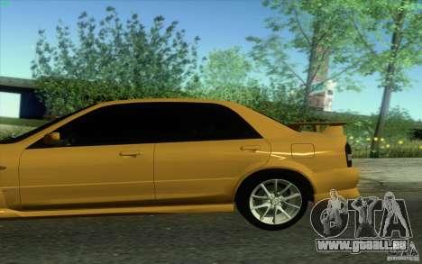 Mazda Speed Familia 2001 V1.0 pour GTA San Andreas laissé vue