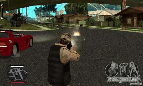 HUD for SAMP pour GTA San Andreas troisième écran