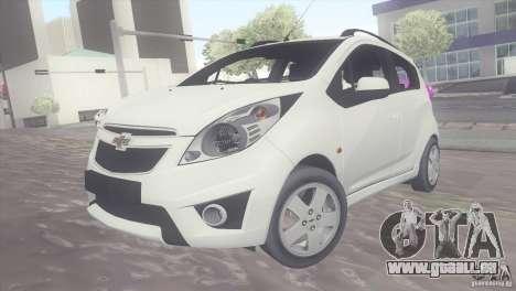 Chevrolet Spark 2011 pour GTA San Andreas
