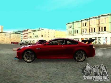 BMW M6 2013 für GTA San Andreas rechten Ansicht
