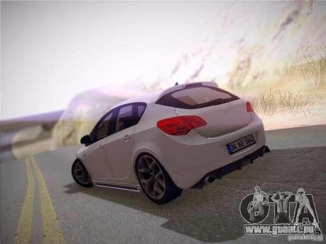 Opel Astra Senner Lower Project pour GTA San Andreas vue de côté