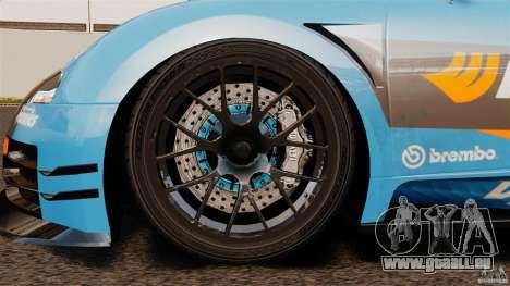 Bugatti Veyron 16.4 Body Kit Final pour GTA 4 est une vue de l'intérieur