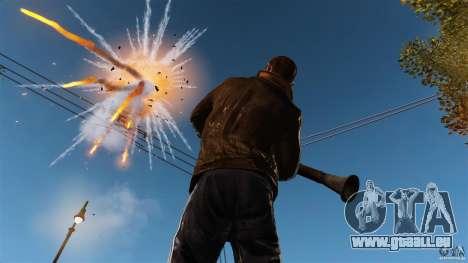 Les véritables dégâts des armes pour GTA 4 troisième écran