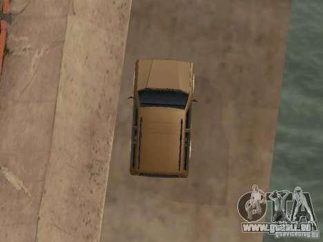 Landstalker nouveau pour GTA San Andreas vue intérieure
