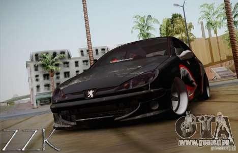 Peugeot 206 Shark Edition für GTA San Andreas