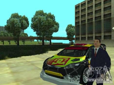 Ford Fiesta H.F.H.V. Ken Block Gymkhana 5 pour GTA San Andreas vue de droite
