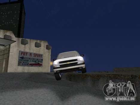 Chevorlet Silverado 2000 für GTA San Andreas Motor