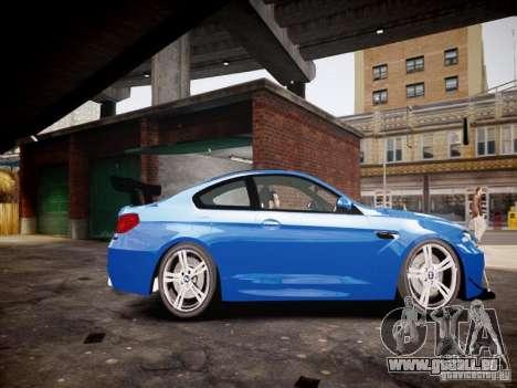 BMW M6 2013 für GTA 4 linke Ansicht