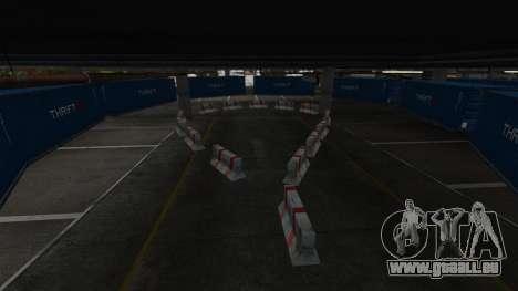 Dérive-piste à l'aéroport pour GTA 4 sixième écran