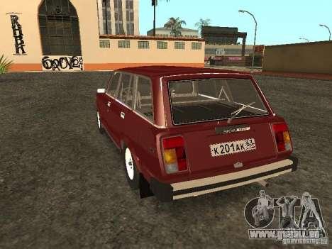 VAZ 2104 v. 2 für GTA San Andreas zurück linke Ansicht