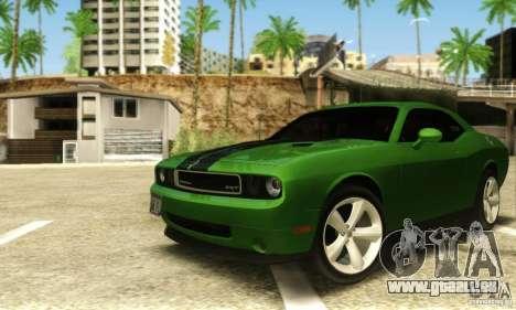 Dodge Challenger SRT-8 für GTA San Andreas linke Ansicht