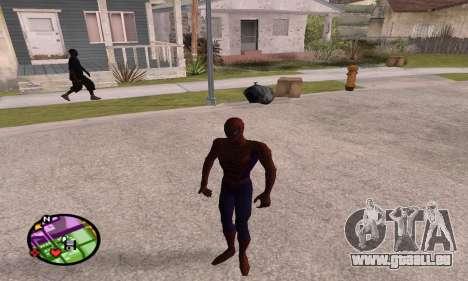 Spider Man and Venom pour GTA San Andreas quatrième écran