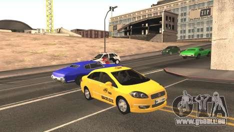 Fiat Linea-Taxi für GTA San Andreas