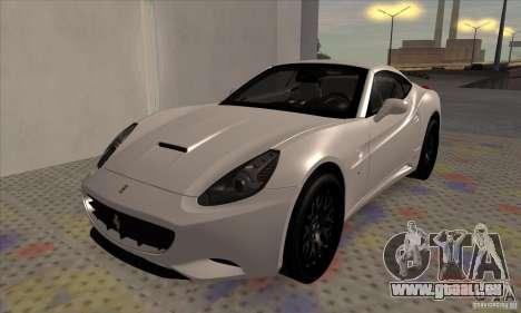 Ferrari California Hamann für GTA San Andreas