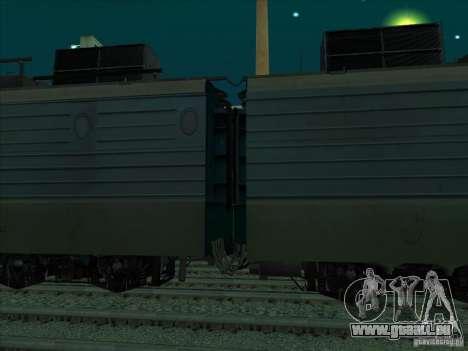 Vl11-320 pour GTA San Andreas sur la vue arrière gauche