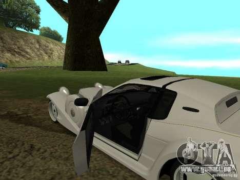 Mitsuoka Le-Seyde pour GTA San Andreas vue arrière