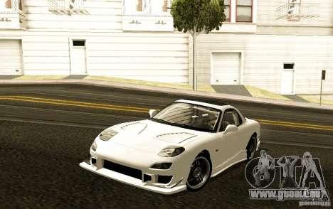 Mazda RX-7 C-West für GTA San Andreas linke Ansicht