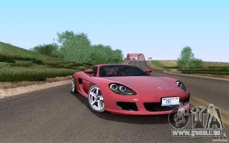 Porsche Carrera GT für GTA San Andreas Seitenansicht