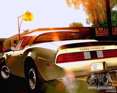 Lensflare Settings pour GTA San Andreas troisième écran