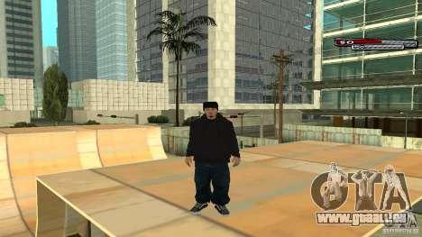 Trialist HD pour GTA San Andreas cinquième écran