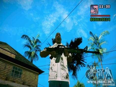 New Weapon Pack pour GTA San Andreas cinquième écran