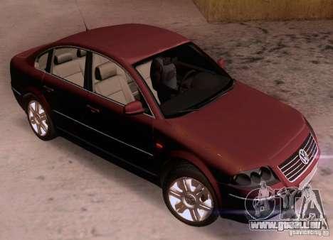 Volkswagen Passat B5+ pour GTA San Andreas vue arrière