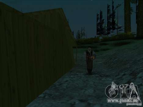 Leatherface für GTA San Andreas zweiten Screenshot