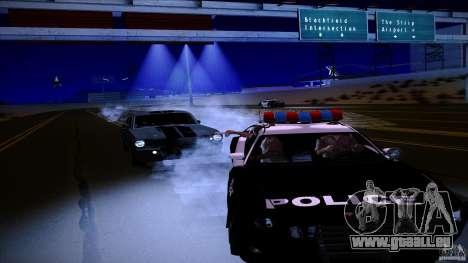Flics tirer hors machine pour GTA San Andreas deuxième écran