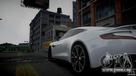 Aston Martin Vanquish 2013 pour GTA 4 est une gauche