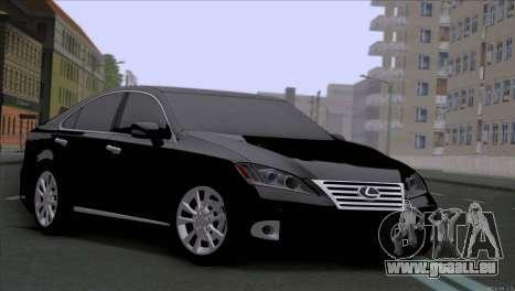 Lexus ES350 pour GTA San Andreas
