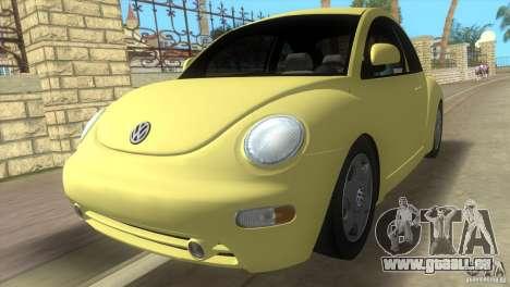 VW New Beetle für GTA Vice City