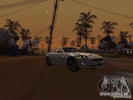 Jaguar XK pour GTA San Andreas vue arrière