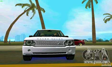 Land Rover Range Rover Supercharged 2008 pour GTA Vice City Salon