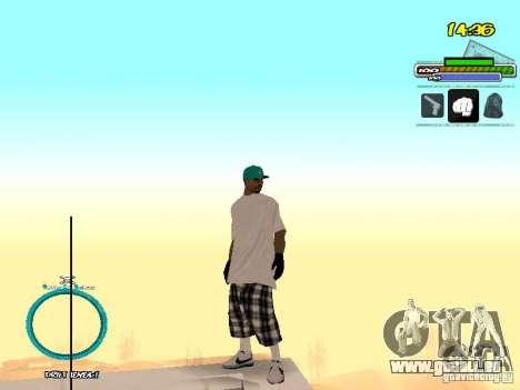 Peaux El Coronos pour GTA San Andreas deuxième écran