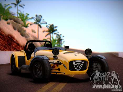 Caterham Superlight R500 für GTA San Andreas